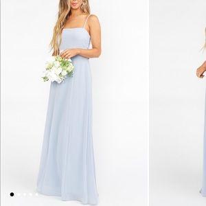 Show Me Your Mumu, Lauren Tie Maxi Dress (small)